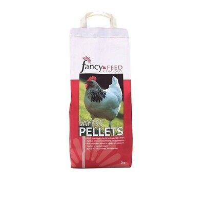 Fancy Feed Company Layers Pellets for Poultry Chicken Bantams 5kg