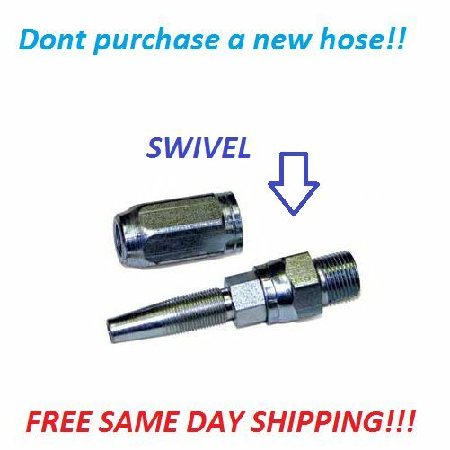 "Swivel End Repair Kit for Pressure Washer Hose 3/8"" REPAIR KIT FOR PRESSURE HOSE"