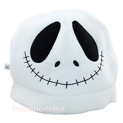 The Nightmare before Christmas Jack Plush Hat Cosplay Costume whtie Skull Hat 1x](Jack The Nightmare Before Christmas Costume)