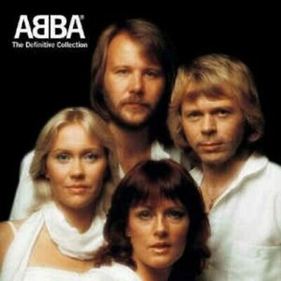 CD: ABBA The Definitive Collection NM 2 discs