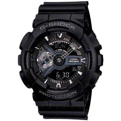 Casio G-Shock X-Large XL Analog-Digital - GA110-1B Military Black