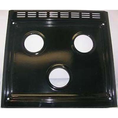 Suburban MFG 101997BK Stove Top Replacement Slide In Top 3 Burner Ranges Black