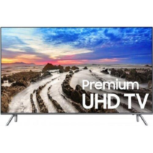 "Samsung 82"" Class (82"" Diag.) LED 2160p Smart 4K Ultra HD TV with High Dynamic Range Gray UN82MU8000FXZA"