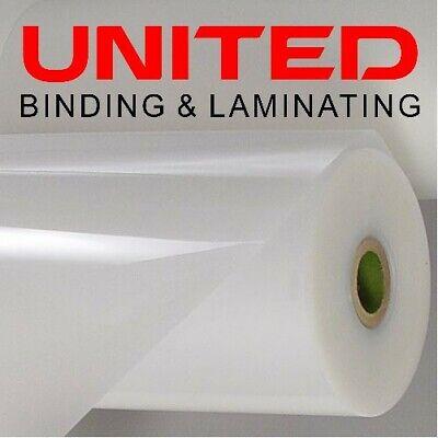 5 Mil Clear Gloss Premium Low Melt Roll Laminating Film 12 X 200 - 1 Core