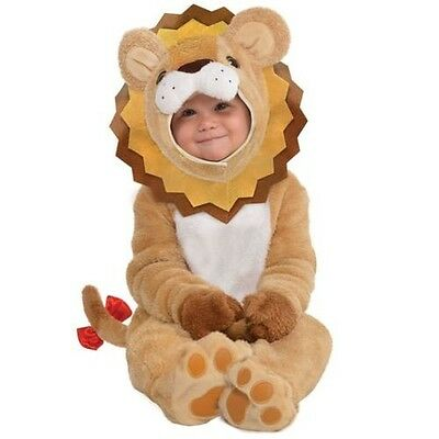 Babys Kleinkind Kleiner Roar Löwe Tier Halloween Kleid Party Kostüm Zoo ()