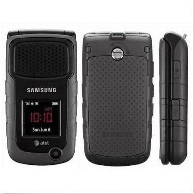 UNLOCKED Samsung Rugby II SGH A847 (AT&T- T -mobile) 2MP 3G Flip phone