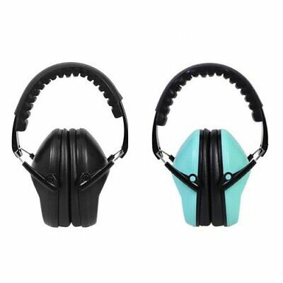 Folding Earmuff Ear Muffs Hearing Protection Noise Reduction Defender 2color Opt