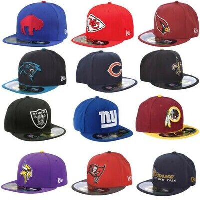 New Era NFL 59fifty Baseballhut Kappe Raiders Giants Wikinger Panthers