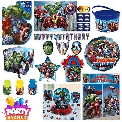 Marvel Avengers Assemble Geburtstagsparty Zubehör Dekoration Geschirr