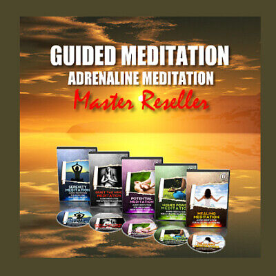 Guided Meditation/Adrenaline Meditation - Audio Serie - Master Reseller Lizenz Audio-serie