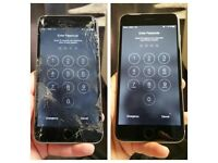 iPhone 5,6,7,8 screen replacements