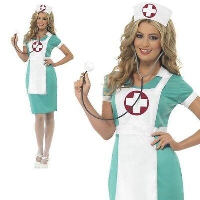 Scrub Krankenschwester Uniform Kostüm Damen Arzt Erwachsene Damenabend - Damen Arzt Kostüm