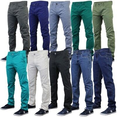 City-denim-hose (Herren Chino Jeans Jack South Kushiro City Denim-Hose Enge Passform Freizeit)