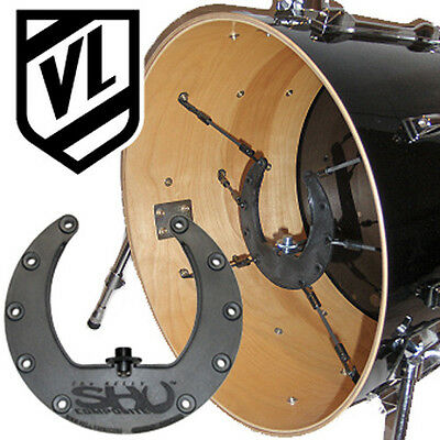 Kelly SHU Composite Kick Drum Microphone Shock Mount System for your bass drum
