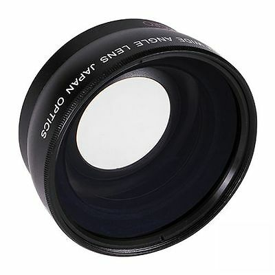 58MM 0.43x Pro HD Wide Angle Lens fisheye w/ Macro for CANON SL1 T5 T4I 70D T3I