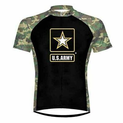 Primal US Army Cycling Jersey. Camouflage Ambush Men's Xl excellent