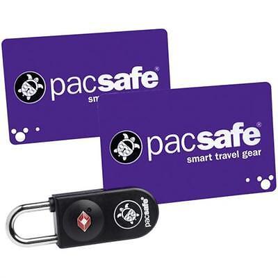 Pacsafe Prosafe 750 TSA Karten Schloss Black Öffnet mit codierter Schlüsselkarte
