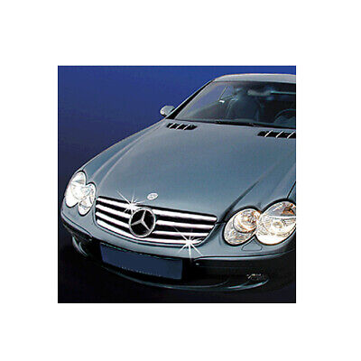 Schätz Chrom Blenden für Grill Mercedes SL R230 2001-2008 B-Ware