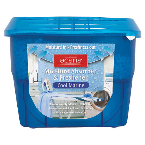 Acana Moisture Absorber/Freshener-Cool Marine Fragrance from Caraselle