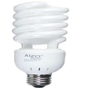new full spectrum light bulb alzo 27 watt photo compact. Black Bedroom Furniture Sets. Home Design Ideas