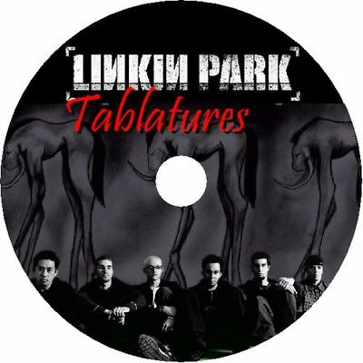 LINKIN PARK BASS & GUITAR TAB CD TABLATURE GREATEST HITS BEST OF ROCK MUSIC
