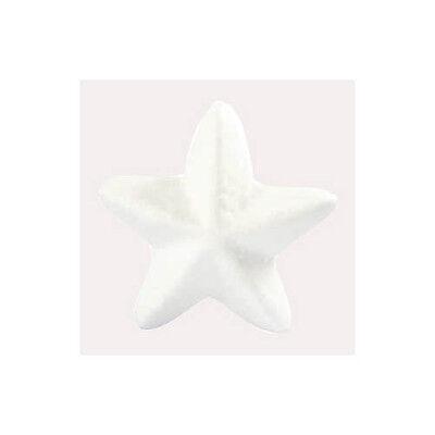 Styropor Sterne, H 6,5 cm, 5 Stk. Deko Sterne Weihnachten Adventszeit