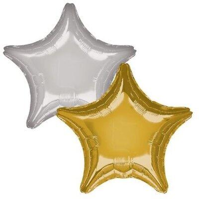 Dekorative Folien (Dekorativ Qualität Folienballons Weihnachtsstern Herkunft Silber Gold Spielen)