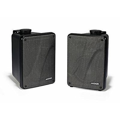 "KICKER KB6000B 6.5"" Black Full Range Indoor/Outdoor/Marine Box Speakers 11KB6000"