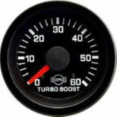 Isspro R5623R EV1 Series Turbo Boost Gauge 0-60 PSI Universal