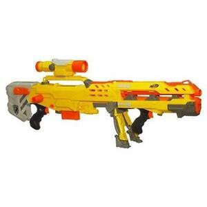 Hasbro - Nerf N-Strike 2in1 Longshot CS-6 inkl. Darts Action Sniper Blaster NEU