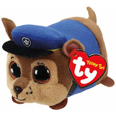"TY Beanie Boos 9/"" MEDIUM Paw Patrol CHASE German Shepherd Plush MWMT/'s Heart Tag"
