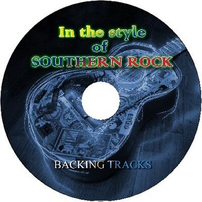 SOUTHERN ROCK IN THE STYLE OF GUITAR BACKING TRACKS CD BEST GREATEST HITS