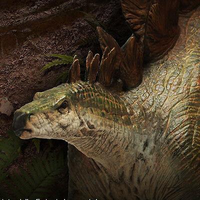 Chronicle Stegosaurus Dinosaur Statue Figure New Sealed