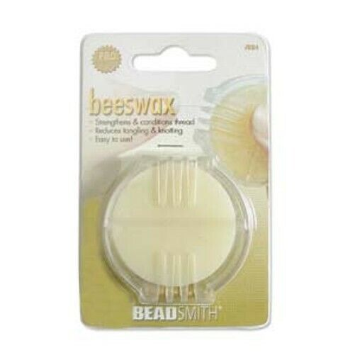 Beading Thread Strengthening Conditioner Beadsmith Beeswax for Beading/Quilting