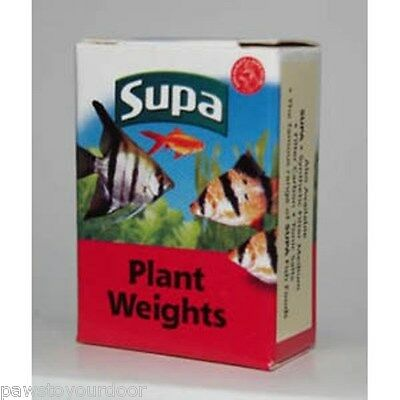 Supa plant weight X 10 lead strips for weighting live plants aquarium fish tank