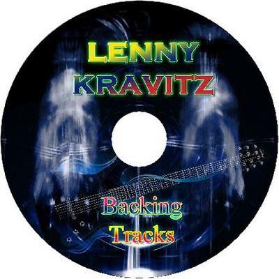 LENNY KRAVITZ GUITAR BACKING TRACKS CD BEST GREATEST HITS MUSIC PLAY ALONG