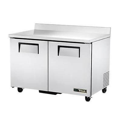 True Twt-48f-hc 48 Two Section Stainless Steel Work Top Freezer