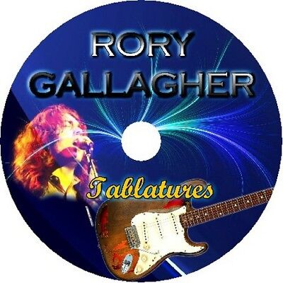 RORY GALLAGHER BASS & GUITAR TAB CD TABLATURE BEST GREATEST HITS BLUES