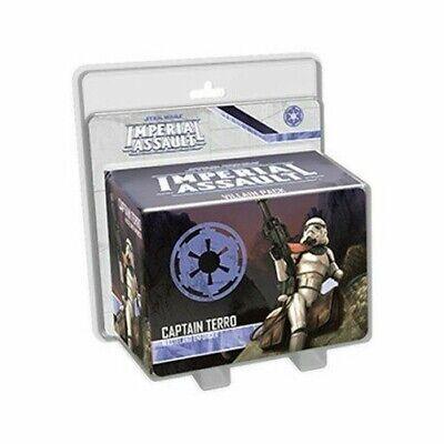 Star Wars Imperial Assault Captain Terro Villain Pack