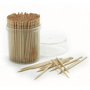 NEW Ornate Bamboo Fancy Toothpicks, 360 Count, Great for Hors d'oeuvres