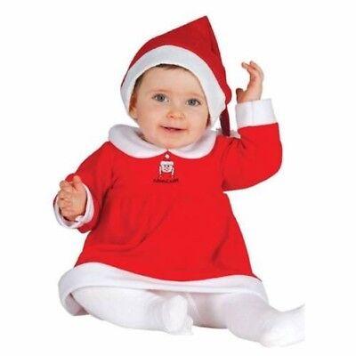 Mädchen Baby & Kleinkind Miss Santa Kleid+Hut Weihnachten - Baby Santa Hut