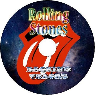 ROLLING STONES GUITAR BACKING TRACKS AUDIO CD BEST GREATEST HITS MUSIC