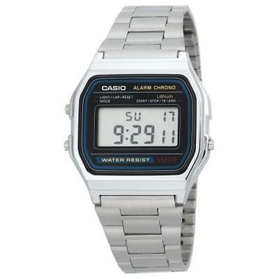 CASIO DIGITAL WATCH 30M WATER RESISTANT ALARM A158-1