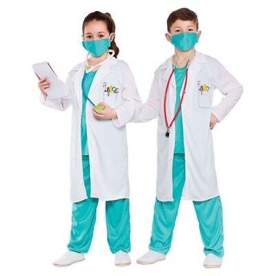 Krankenhaus Arzt Er Srubs Uniform Krankenschwester Mädchen Jungen Kinder - Krankenschwester Kostüm Kind