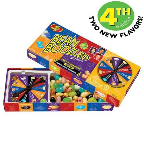 1 Box BeanBoozled 3.5 oz Spinner Jelly Bean Gift Box