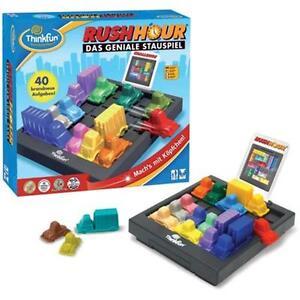 Kinzel Rush Hour Stauspiel Brettspiel Kinder Straßenverkehr Fahrzeuge Autos Stau