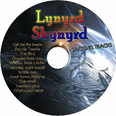 LYNYRD SKYNYRD GUITAR BACKING TRACKS CD BEST GREATEST HITS MUSIC PLAY ALONG