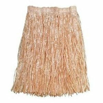 Hula Grass Skirts (HAWAIIAN GRASS HULA SKIRT ADULT SIZE Luau Party Costume Birthday Free)