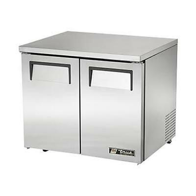 True Tuc-36-lp-hc 36 Two Door Low Profile Undercounter Refrigerator