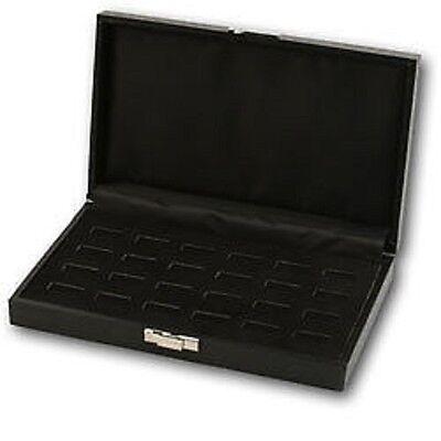 New 24 Slot Ring Tray Display Jewelry Case Travel Box Show Storage